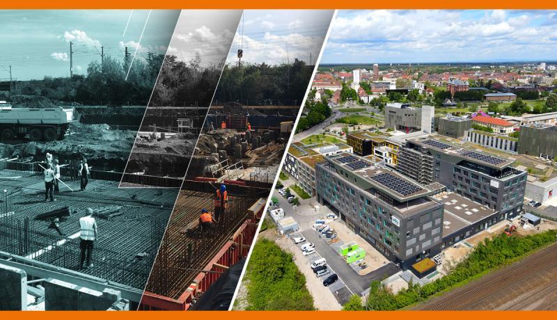 Haag Ingenieure, Glaser Programmsysteme und Wibu-Systems bündeln ihre Kompetenzen, um einen sicheren, ästhetisch ansprechenden, ökonomischen und umweltfreundlichen Firmensitz für Wibu-Systems und das House of IT-Security im Zentrum der dynamischen Technologiestadt Karlsruhe zu schaffen.