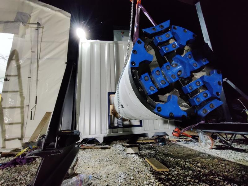 Spanflug unterstützt TUM Boring beim Bau der vielleicht schnellsten Tunnelbohrmaschine