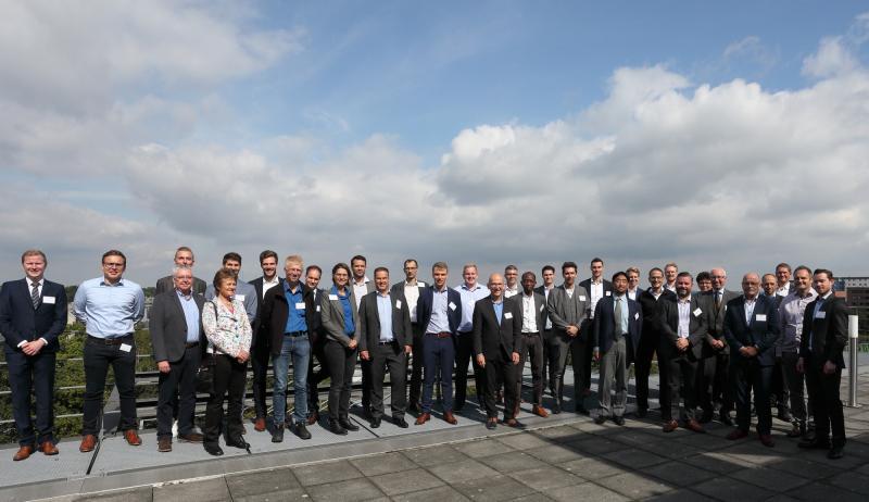 Die Gründungsmitglieder des Innovationsnetzwerks Kupferbearbeitung beim Kick-off in Aachen