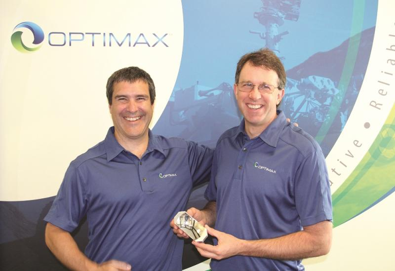 The judges at Optimax have picked the winning part based on creativity, skills, and overall look of the aerospace mirror.
