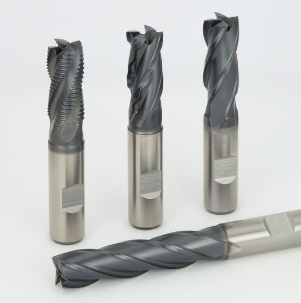 End Mills with HLCRN-Coating