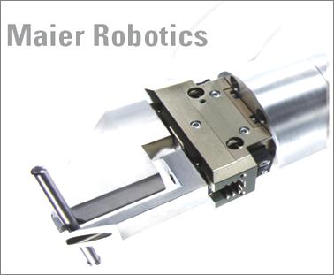 Maier Robotics Messe Automatica 2012