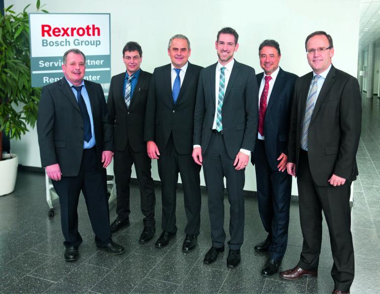 Als erstes Bosch Rexroth Repair Center für mobile Arbeitsmaschinen zertifiziert Bosch Rexroth die ABS Hydraulik-Service GmbH in München – und startet damit den Aufbau eines Repair Center Netzes.