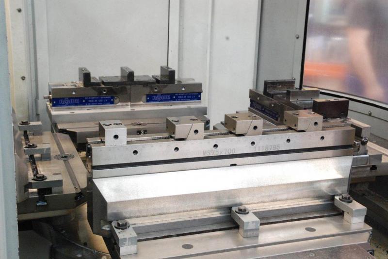 Wechselpalette und Röhm-Spannleisten erhöhen die Produktivität und Flexibilität beim Lohnfertiger Roland Fleischer GmbH.