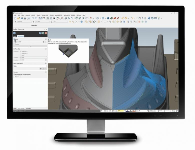 Mastercam's Design Tools Provide Flexibility