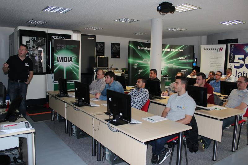 WIDIA Seminar bei SolidCAM Schramberg
