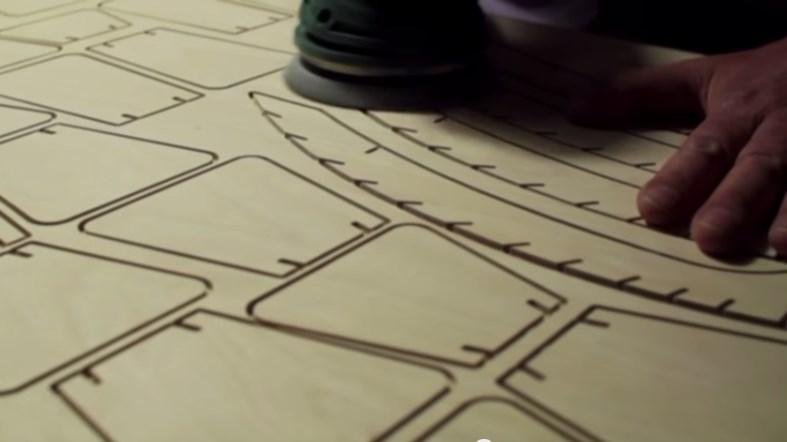 holzbearbeitung lampenherstellung lampen aus holz. Black Bedroom Furniture Sets. Home Design Ideas