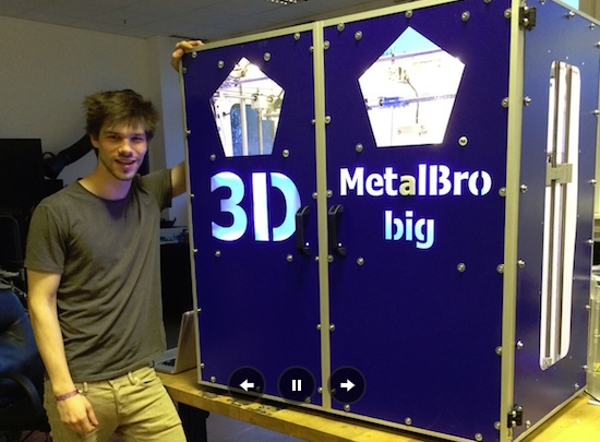 3D printer in new dimension - make it big and fast