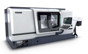 NLX3000MC/1250 in the new DMG MORI SEIKI design: Precise high-performance turning and milling with BMT turret for turning lengths of up to 1,250 mm.