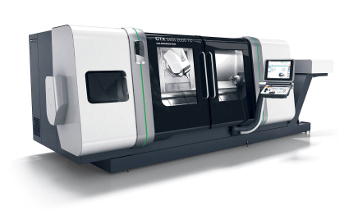 Die CTX beta 2000 TC offers turn-mill complete machining with the biggest Y-stroke in its class and  Operate 4.5 on SIEMENS 840D solutionline.