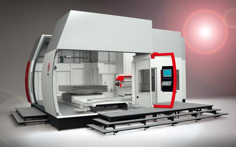 """At the new international trade show for tool, mold and model making """"Moulding Expo"""" SAMAG will be presenting amongst others the successful TFZ series of deep-hole drilling and milling centers."""