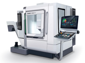 Die DMC 650 V is the third generation vertical machining centre series by DMG MORI SEIKI, offering more power and flexibility in the new design for workpieces up to 800 kg.