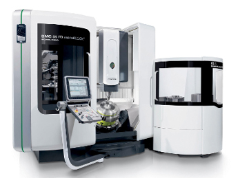 The DMC 85 FD monoBLOCK® with Operate 4.5 on SIEMENS 840D solutionline complements DMG MORI SEIKI's successful series of universal monoBLOCK® machines.