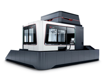 The high-end precision machine DIXI 270 from DMG MORI SEIKI features a work area of 2,700 x 2,700 x 1,600 mm (X x Y x Z) and achieves a threefold improvement in volumetric accuracy.