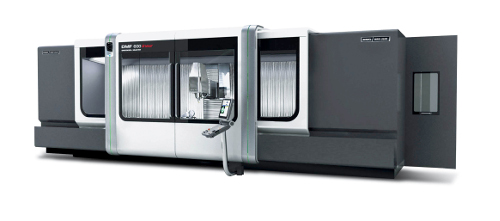 The DMF 600 linear extends DMG MORI SEIKI's range of travelling column machining centres with long travels for workpieces up to 10 t.