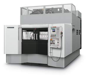 The compact horizontal machining centre i80L from DMG MORI SEIKI is designed for manufacturers of cylinder heads and crankcases in the automotive industry.