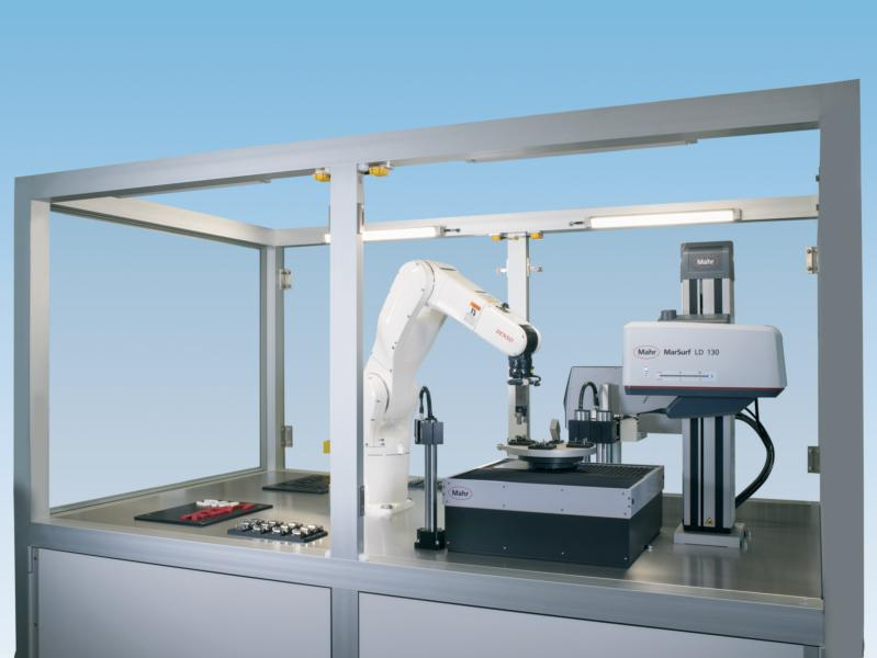 Automatic part recognition, part labelling and robot handling are new metrological  options in present and future production systems.