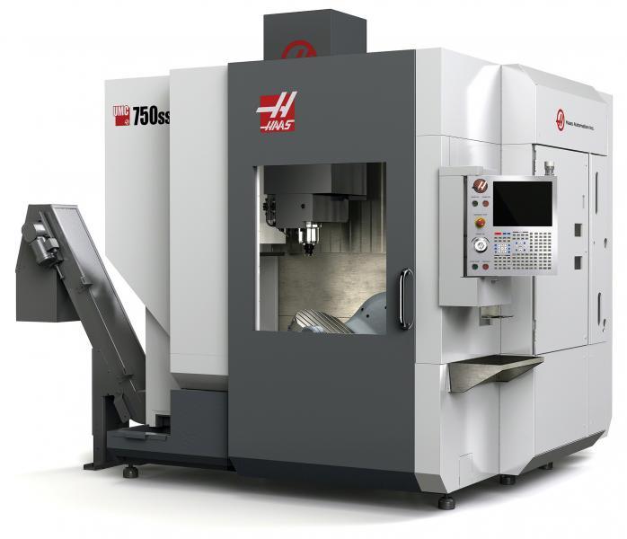 Haas Automation mit neuen Maschinen und dem Haas F1-Rennwagen auf der EMO