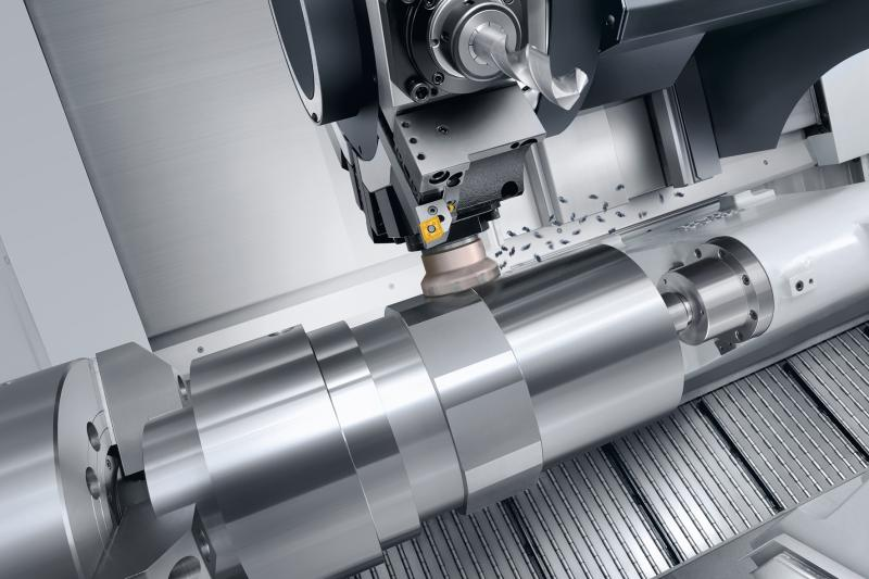 The new NLX 6000|2000 manages the whole range of high-performance turning in the field of long parts with large diametres from 2-axes turning to 6-side complete machining.