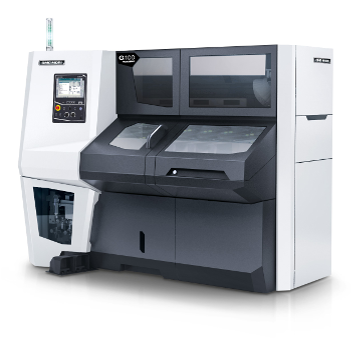 Thanks to its linear tool carrier as well as its process stability and rigidity the G100|480 offers the perfect basis for hard machining applications