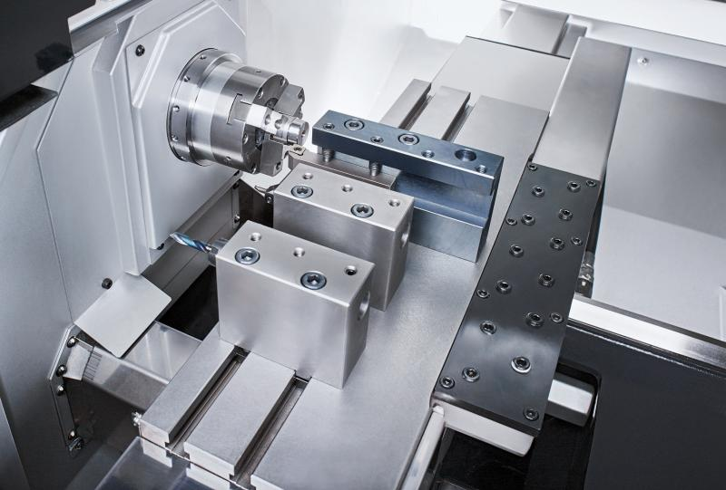 Thanks to its linear tool carrier as well as its process stability and rigidity the G07 offers the perfect basis for hard machining applications