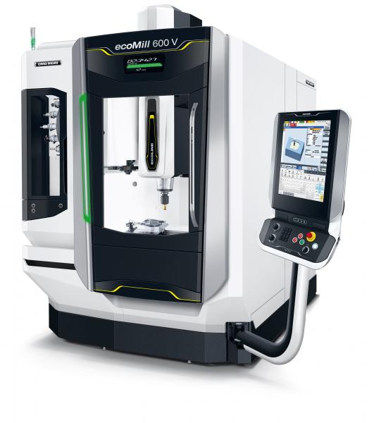 New vertical machining centres with the DMG MORI Multi-Touch SLIMline® Control*