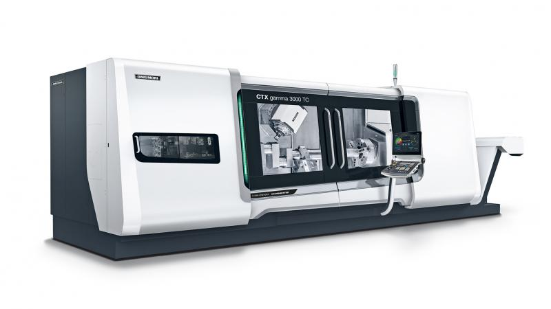 800 mm X travel with the new compactMASTER<sup>®</sup> turn-mill spindle rated at 220 Nm torque