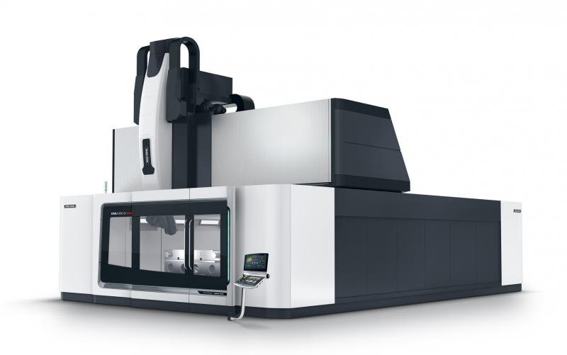 Gantry machine with linear drives in the X, Y and Z axes for unrivalled surface quality