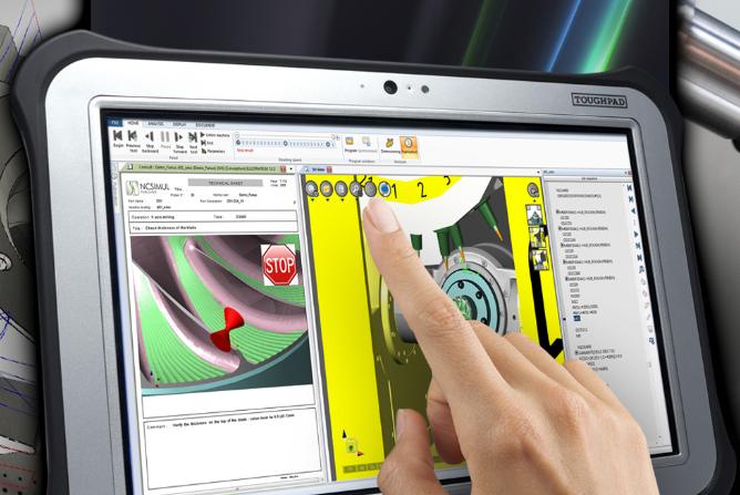 WYSIWIC: 3D Maschinensimulation in Echtzeit und mobil verfügbar