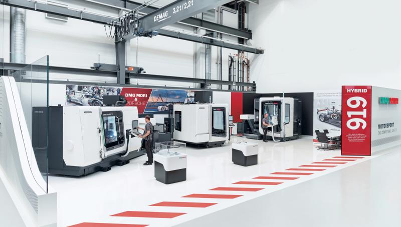 The DMG MORI process chain is a prime example of a successful digital transformation and a practical link from the virtual to the real world. Its high level of customer benefit is substantiated among other things by the competence partnership between 