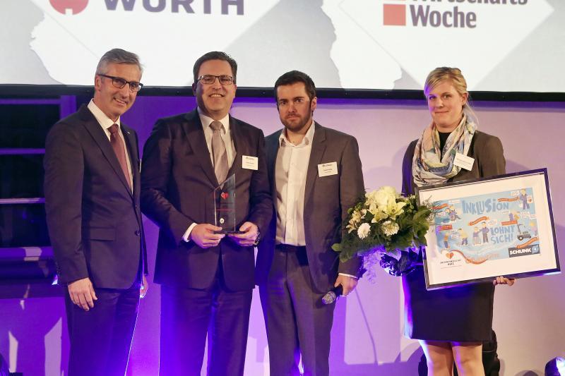 WirtschaftsWoche und Würth küren Henrik A. Schunk zum Unternehmer mit Herz