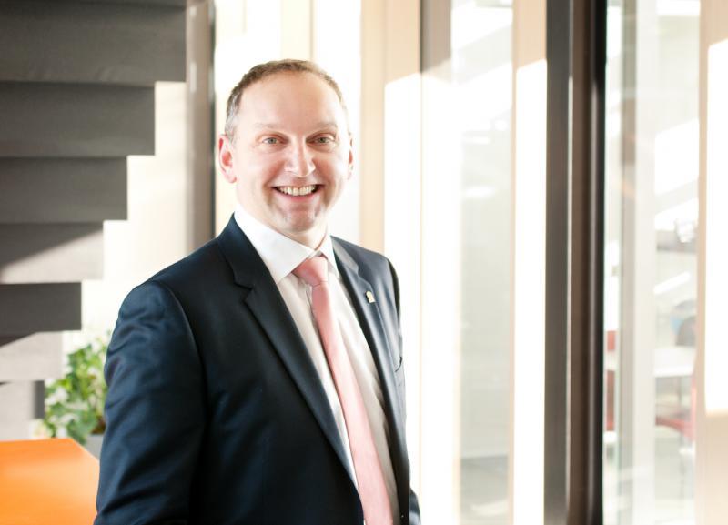 Frank Herzog, Managing Partner and founder of Concept Laser, Lichtenfels