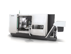 Turn & Mill complete machining with the new ultra-compact patented turn-mill spindle.