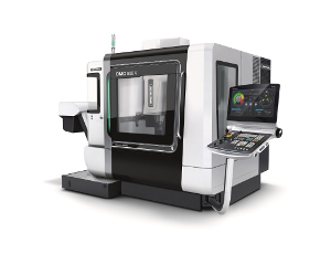 The new DMC V series with CELOS from DMG MORI in the new Corporate Design comes with a unique machine concept for increased performance and flexibility.