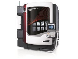 With the LASERTEC 65 Additive Manufacturing, DMG MORI presents a unique machine which integrates laser metal deposition in a full-scale 5-axis milling machine.