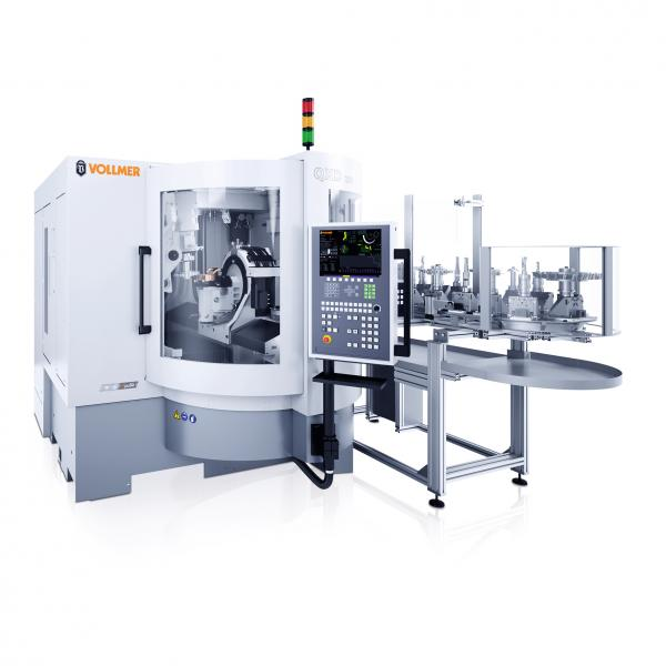 This disc erosion machine from the QXD range ensures precise machining of PCD tools. The machine shown in this picture is the QXD 250, which has been on the market since 2014.