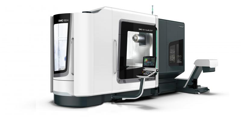 DMG MORI consolidates its portfolio in the sector of heavy machining with the world premieres of the two horizontal machining centres DMC 100 H duoBLOCK® and DMC 125 H duoBLOCK®.