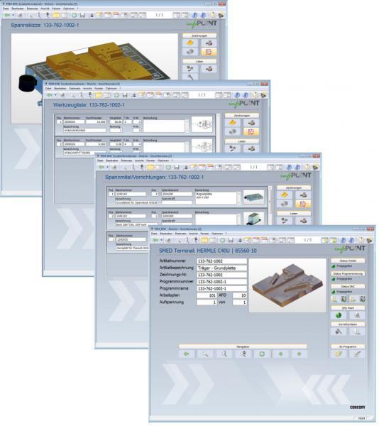 COSCOM Info-Point - Die digitale Arbeitsmappe für den Werker direkt an der Maschine