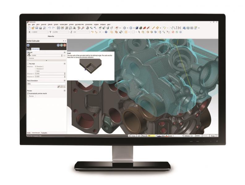 """Mastercam's """"CAD for CAM"""" Design Tools"""