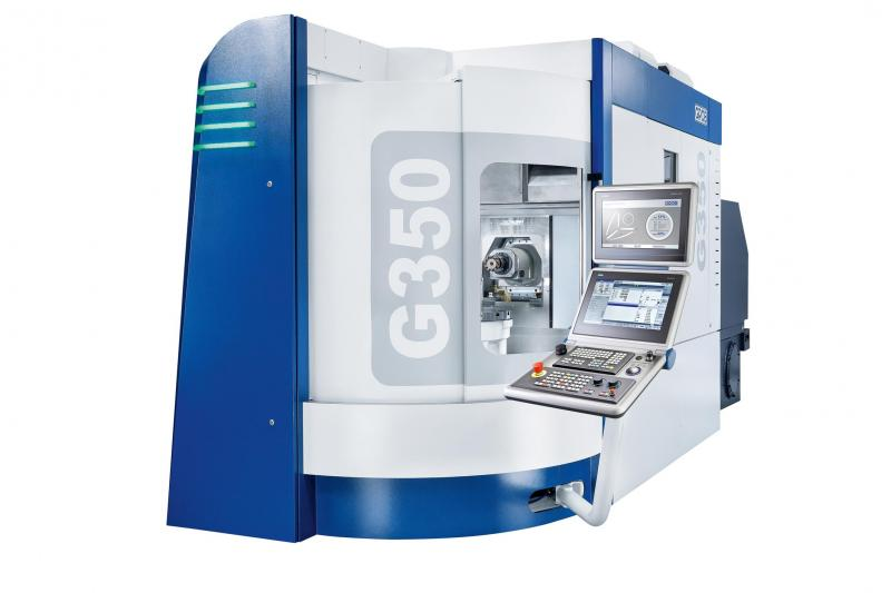 GROB Systems 5-Axis Machining & Automation at IMTS S-8574