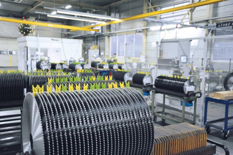 Dutch company sharpens circular saws with Swabian technology