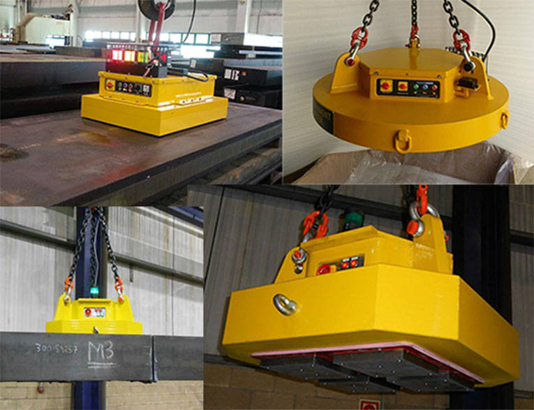 ASSFALG magnets presents the new lifting magnets for large loads