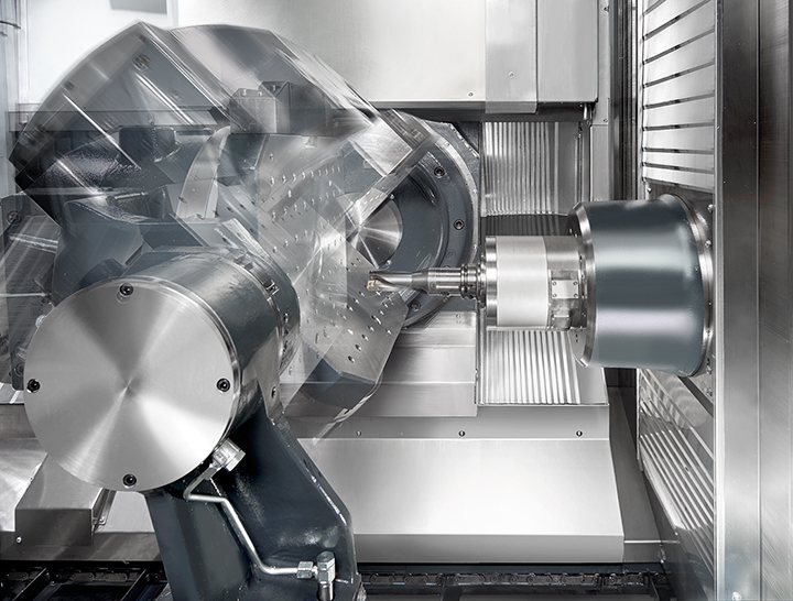 Added value for lifetime production diversity - with the new, universal HF series of 5-axis machines