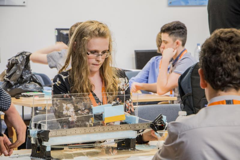 Global engineering company Renishaw opened the doors of its Gloucestershire headquarters to 108 school students for work experience in July 2016. The students took on a series of engineering projects to get a taste of what a career in the field entails. The Renishaw work experience programme aims to inspire more young people to consider STEM careers.