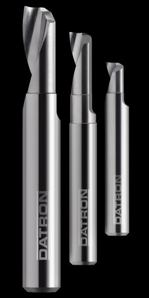 DATRON's 4-in-1 Single Flute End Mill: balanced, with wiper flat and polished twice
