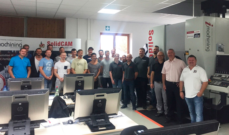 Praxislehrgang Industrietechniker/-in IHK bei der SolidCAM GmbH