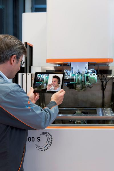 GF Machining Solutions' rConnect is a central communications platform
