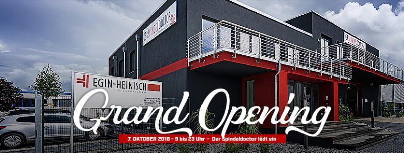 Neues Spindeldoctor Home eröffnet auf rund 3.000 Quadratmetern