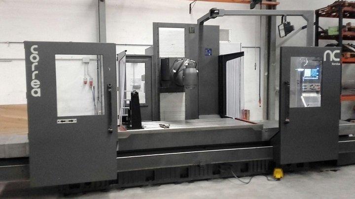 Nicolás Correa Service, S.A. ha realizado el proceso de instalación y puesta en marcha de la fresadora de bancada CORREA PRIMA 20.