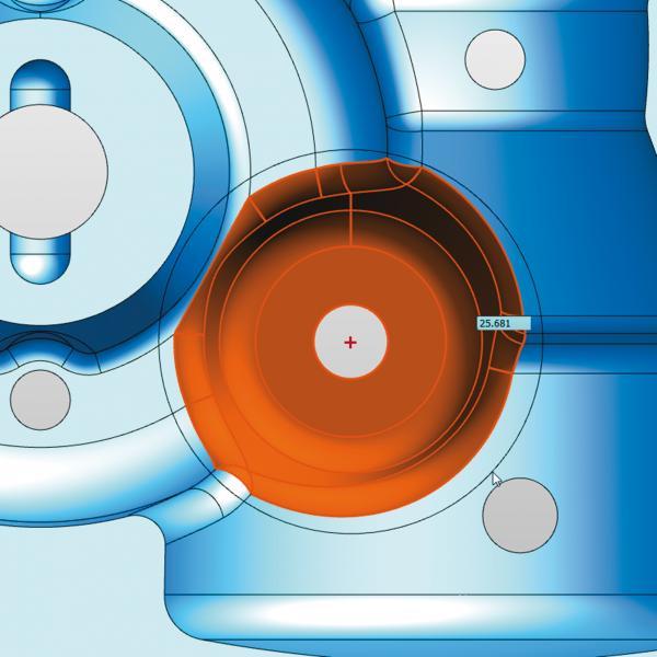 Neue Auswahlwerkzeuge für die Selektion von CAD-Elementen in hyperCAD®-S